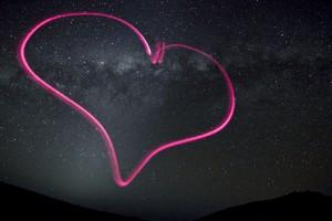 Heart in Milky Way