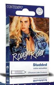 Rough rider condom