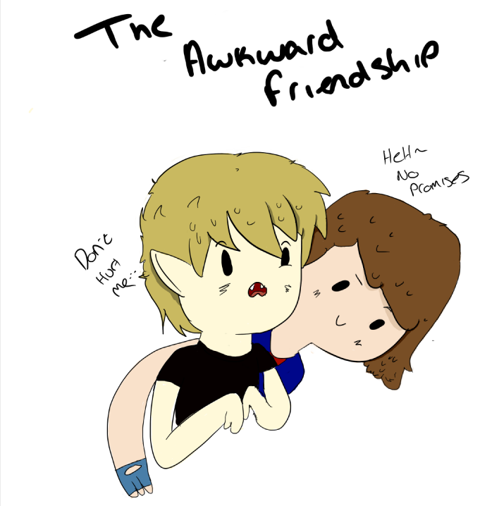 Awkward friendship