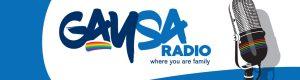 Gay SA radio banner